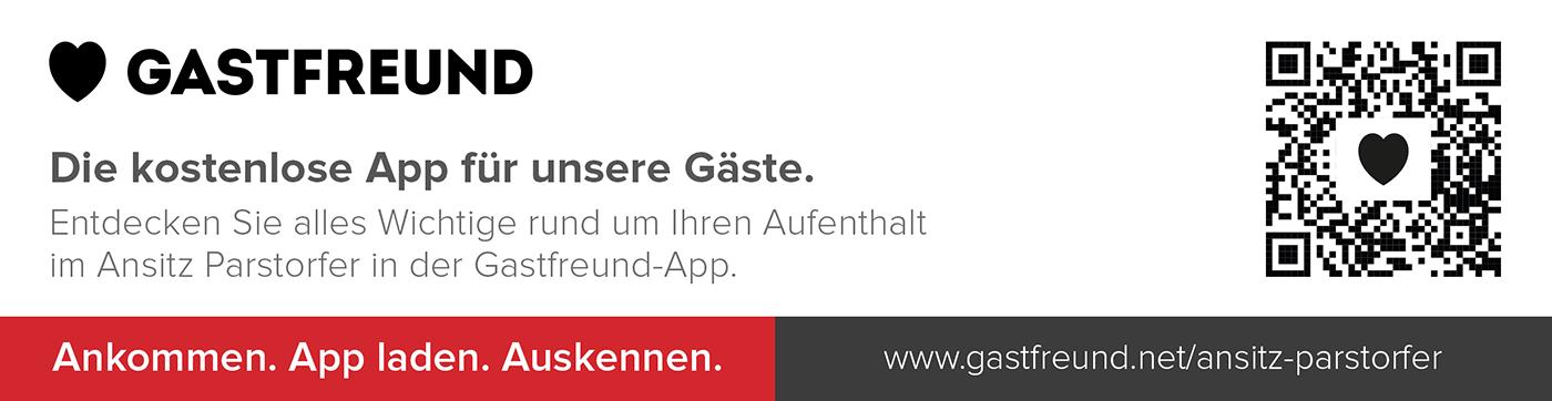 Ansitz Parstorfer - Gastfreund: Die kostenlose App für unsere Gäste