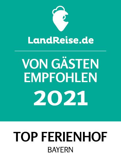Von Gästen empfohlen - Top Ferienhof Bayern